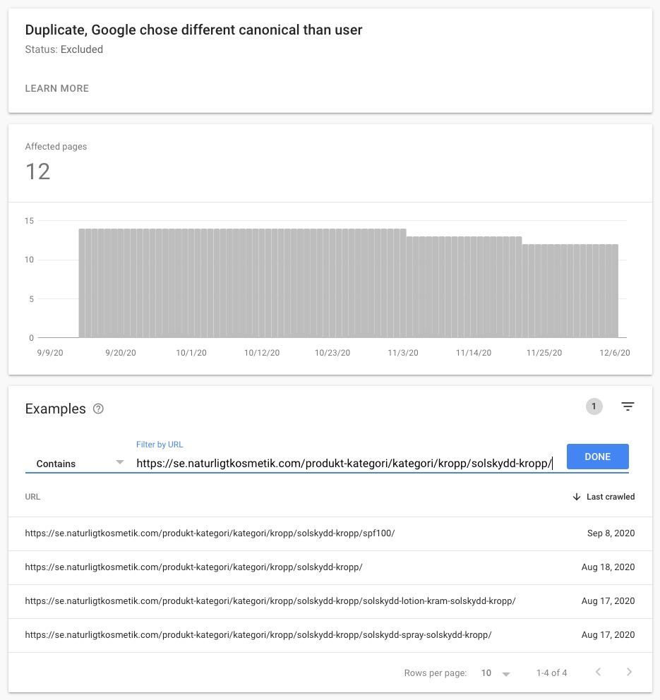 How to Fix Coverage Duplicate Google Chose Different Canonical Than User
