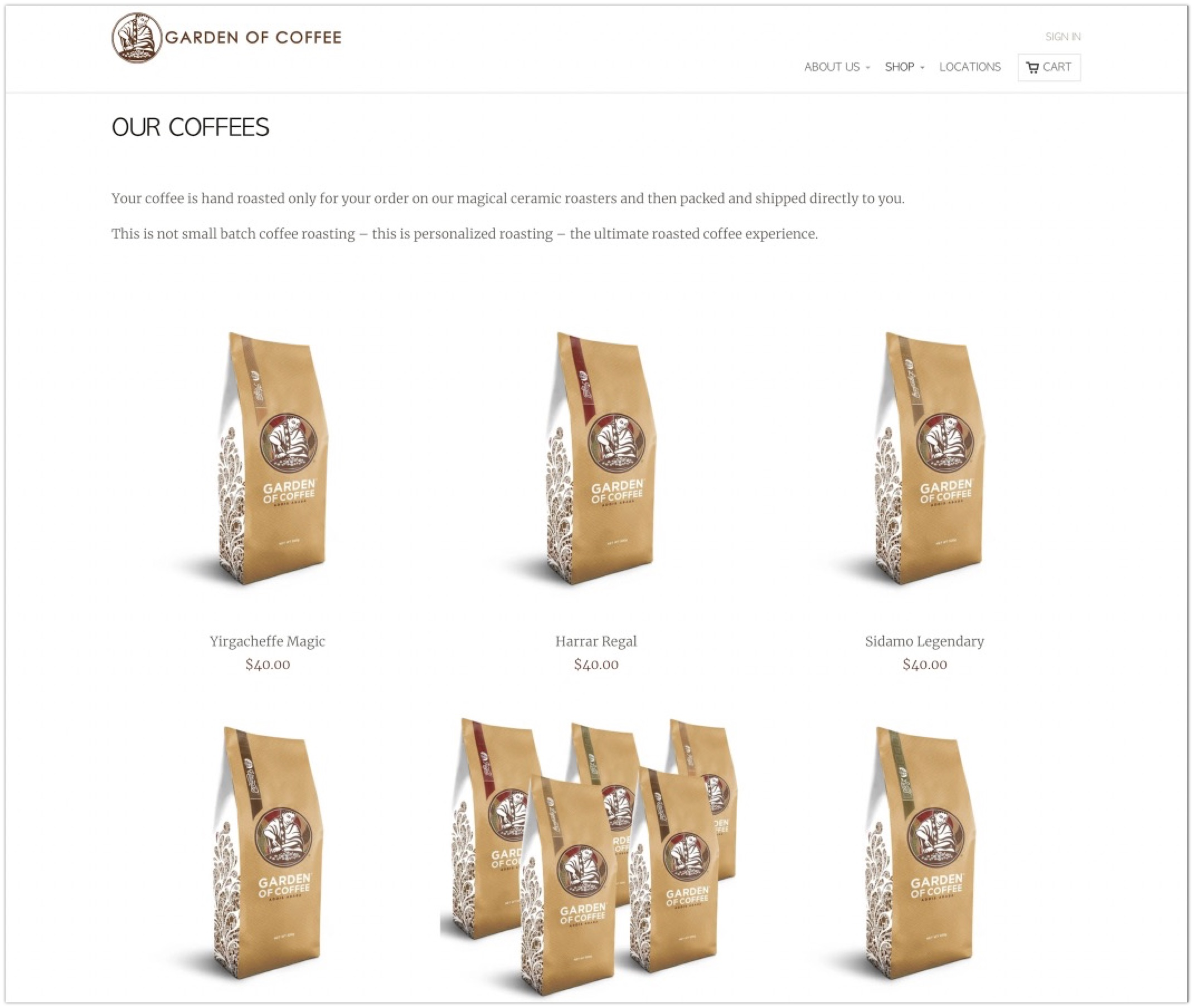 An example of great e-commerce product category